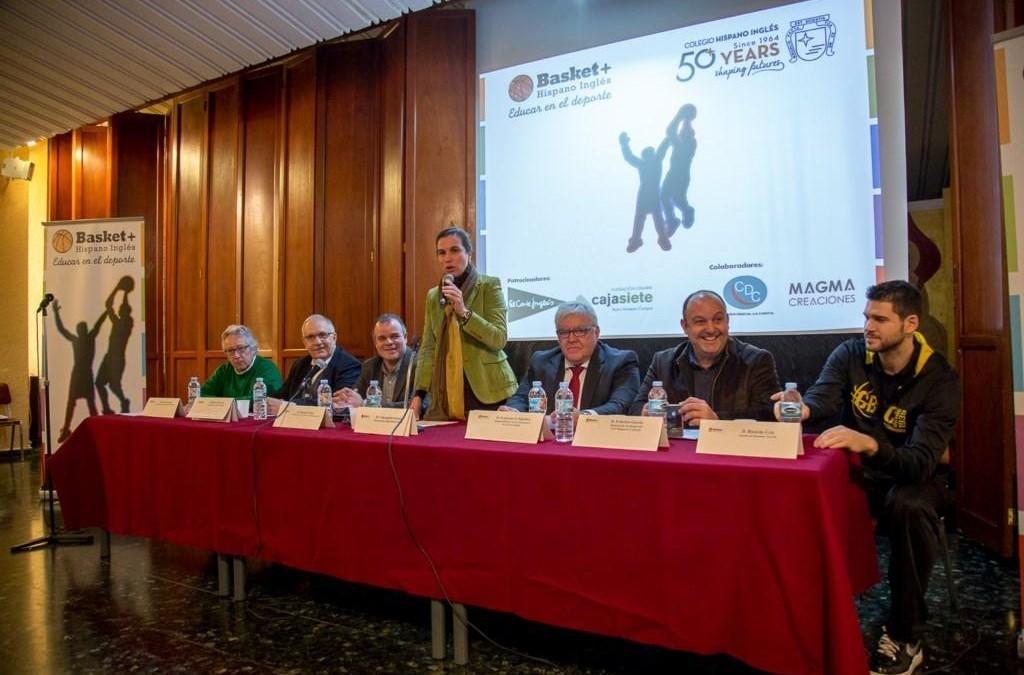 """Presentación del proyecto """"Basket + Educar en el deporte"""" del colegio Hispano Inglés- copy- copy"""