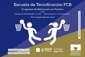 Escuela de tecnificacion FCB 2017