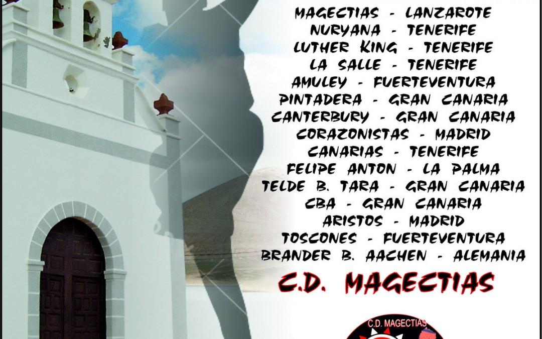 EL CD MAGEC TÍAS ORGANIZA EL TORNEO INTERNACIONAL DE BALONCESTO LA CANDELARIA 2016