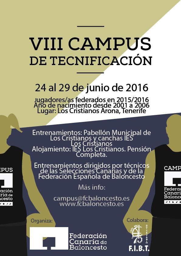 Cartel VIII Campus Arona