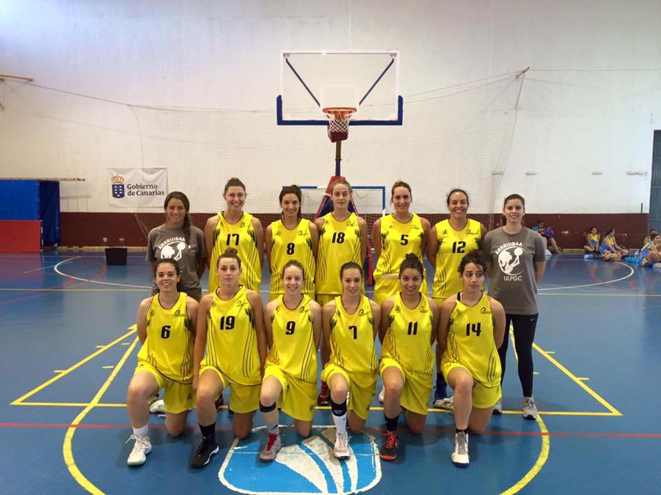 Universidad de Las Palmas campeonato canarias segunda