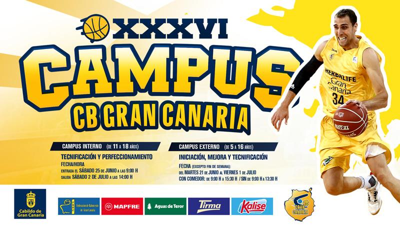 EL CB GRAN CANARIA PERFILA SU CAMPUS DE VERANO
