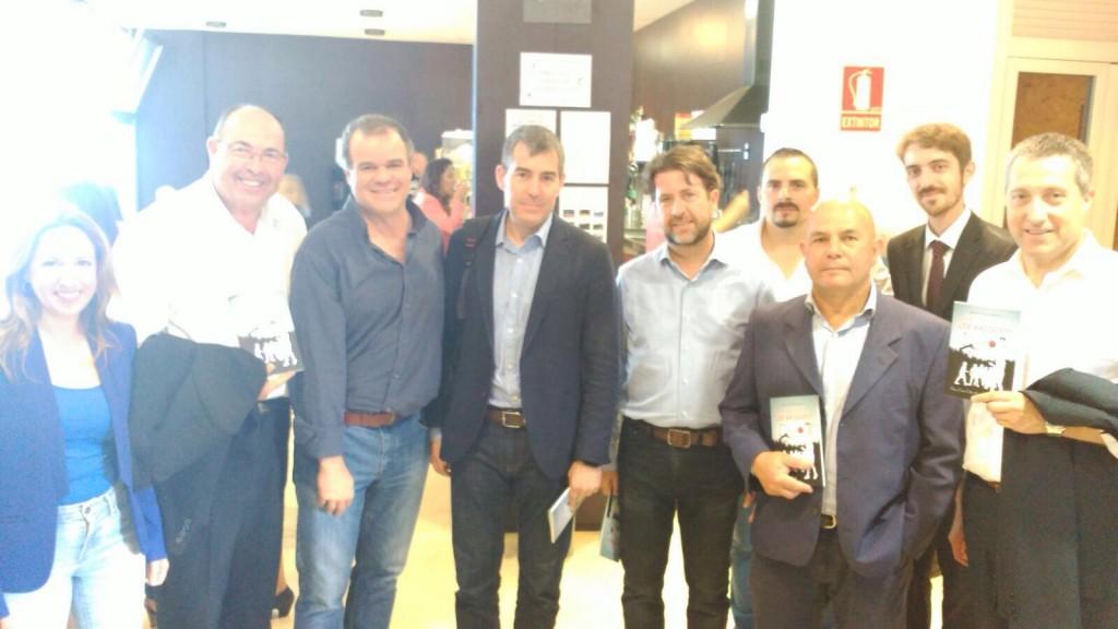 Fernando Clavijo, Carlos Alonso, Manuel gomez