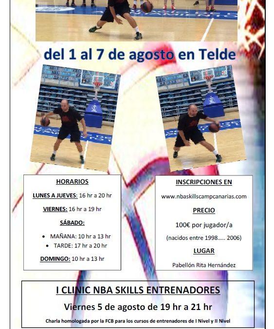 TELDE ACOGE EL I SKILLS CAMP ANDREW MORAN