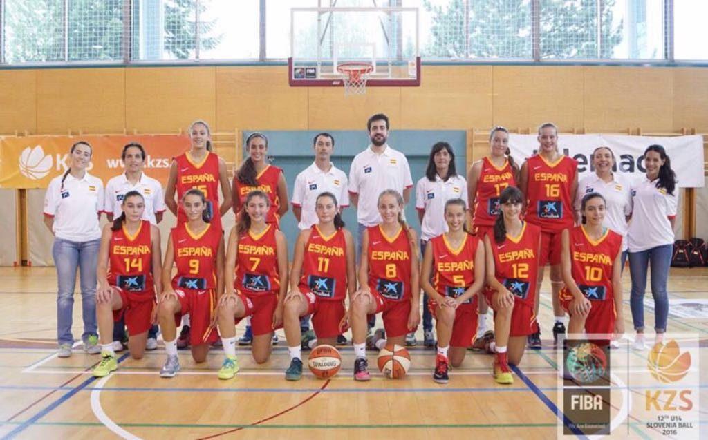 Selección femenina u14
