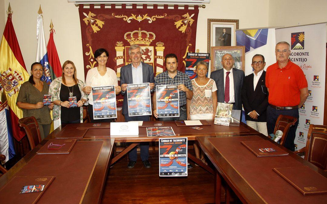 PRESENTADO EL XXX TORNEO FIESTAS DEL CRISTO DE TACORONTE