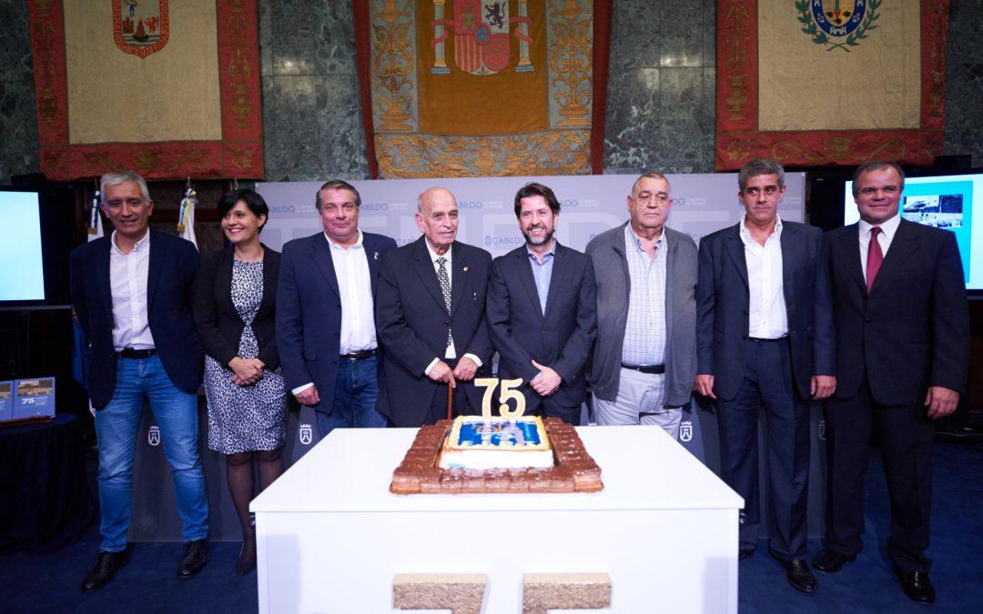 PRESENTADO EL LIBRO DEL 75 ANIVERSARIO DE LA FIBT