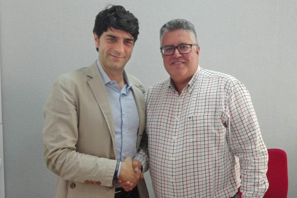 Federico Ciccodicola (i) y Pedro Cazorla.