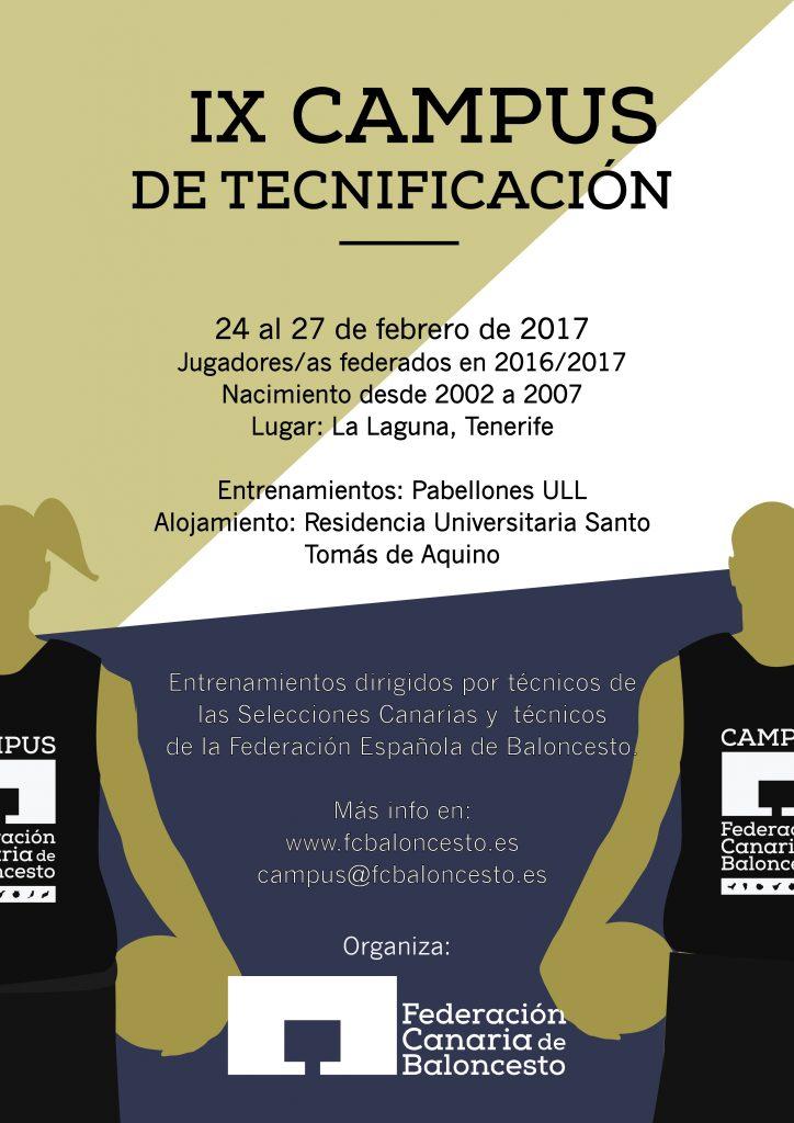 IX Campus Federación Canaria de Baloncesto