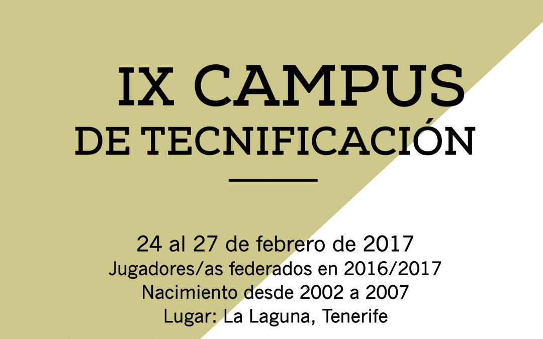 LA FCB ORGANIZA SU IX CAMPUS DE TECNIFICACIÓN