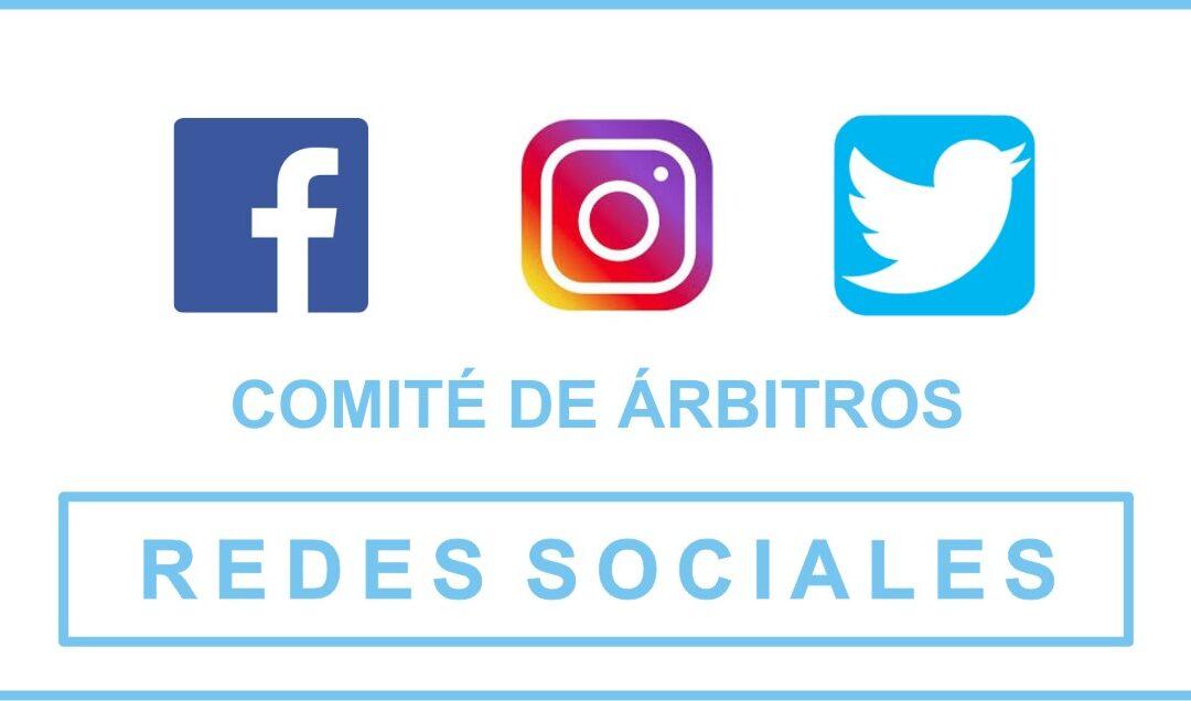 Nuevas redes sociales del Comité de árbitros