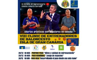 VIII Clinic de Entrenadores de Baloncesto – Isla de Gran Canaria
